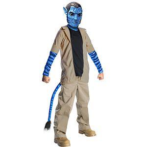 Rubies Avatar Jake Sully Kostümü 5-7 Yaş, erkek doğum günü kostümleri