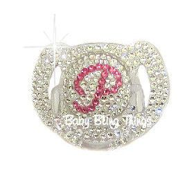 Initial Avent Bling Pacifier -- Baby Bling Things Boutique Online Store