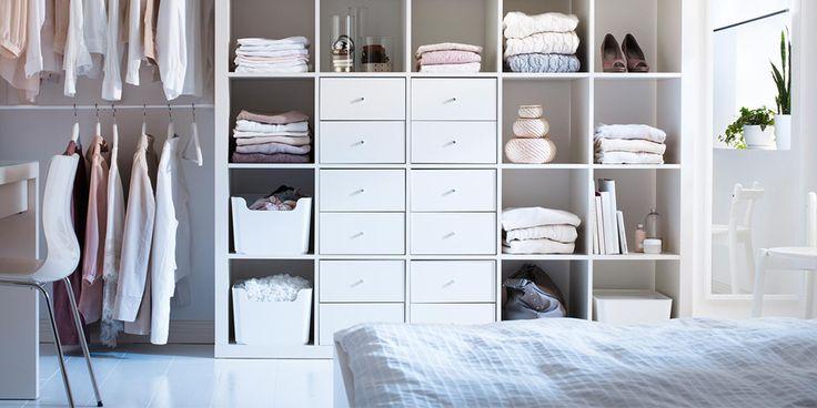 Mejores 97 im genes de almacenaje y orden en pinterest - Ikea cajas almacenaje ropa ...