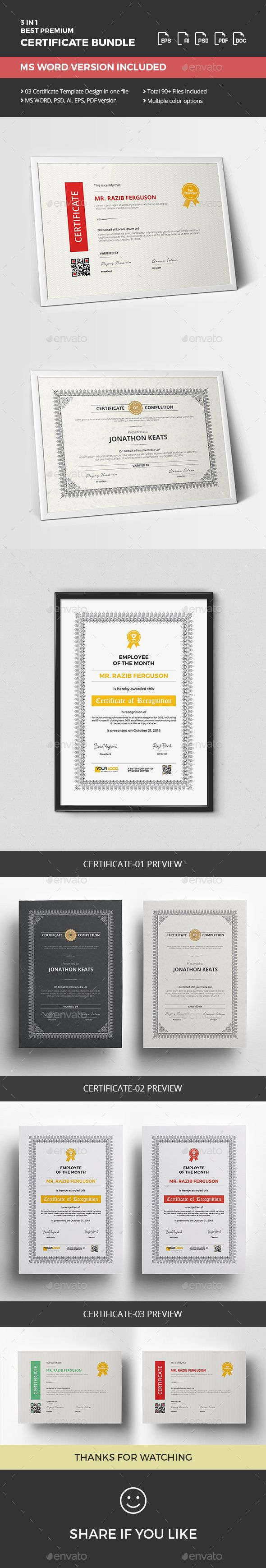 1553 best certificate templates images on pinterest