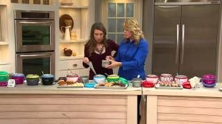 Crock-Pot 20 oz. Lunch Crock Food Warmer w/ 2 Containers with Nancy Hornback - YouTube