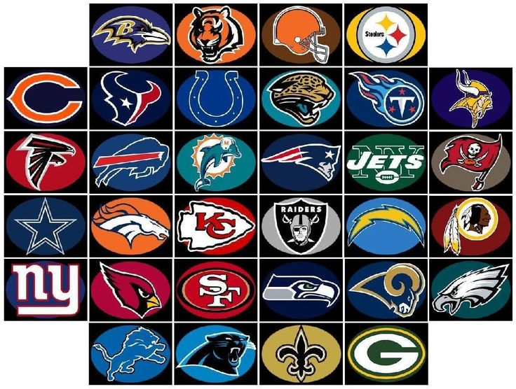 Poster Of All Nfl Teams Google Search Teams And Logos