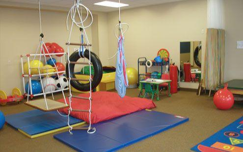 Swings Ladder Ball Storage St Francis Regional Medical