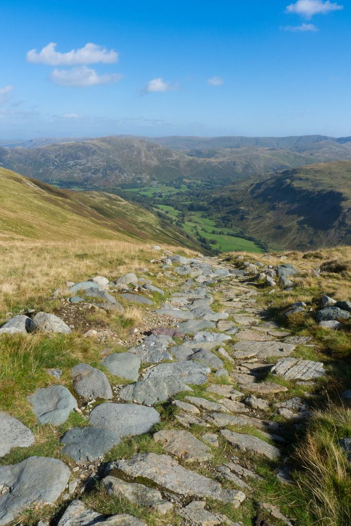 View from the Hole-in-the-Wall to Patterdale, Cumbria, England