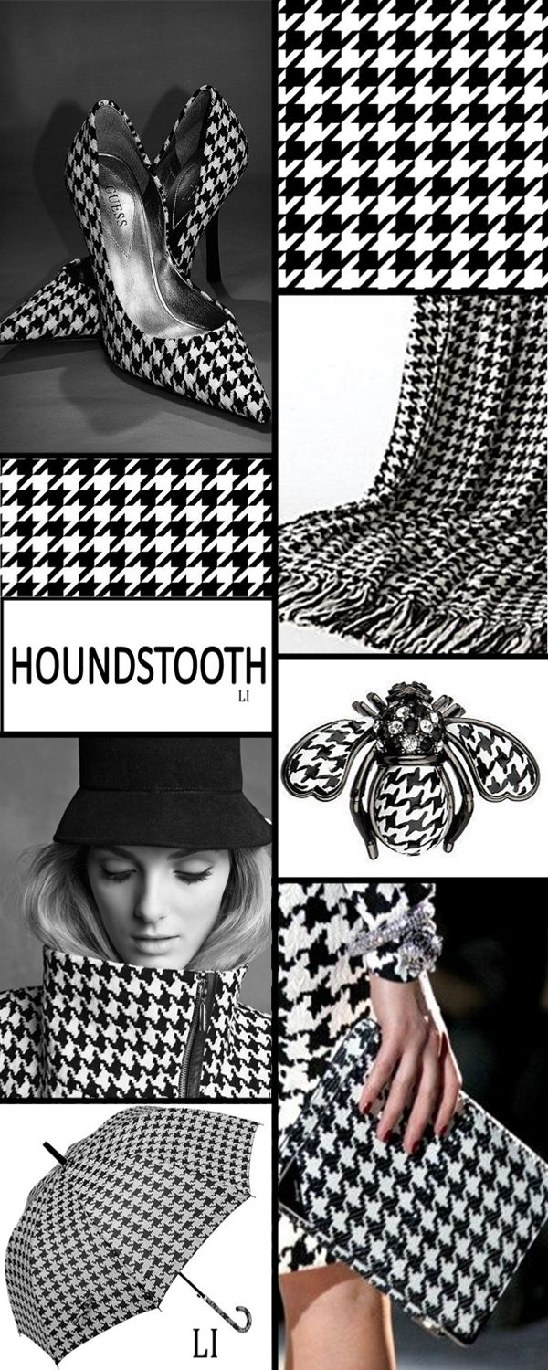 houndstooth ღ Lu's Inspiration