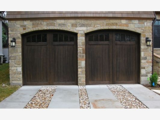 Custom Arched Garage Doors-Home and Garden Design Ideas
