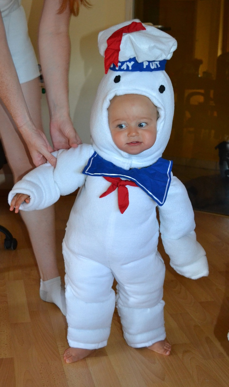 Ghostbusters Stay Puft Marshmallow Man - idea for next year's themed costume (Ghostbusters!)