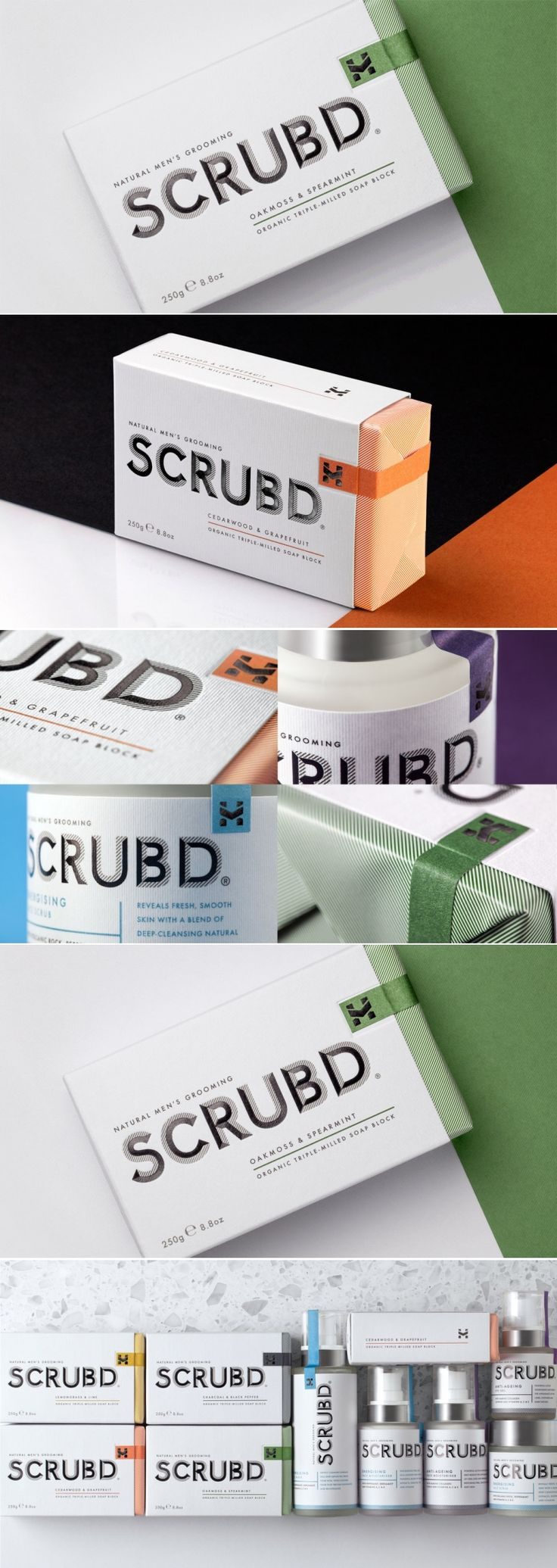 New Identity for SCRUBD Allows Men to Make Their Mark — The Dieline | Packaging & Branding Design & Innovation News