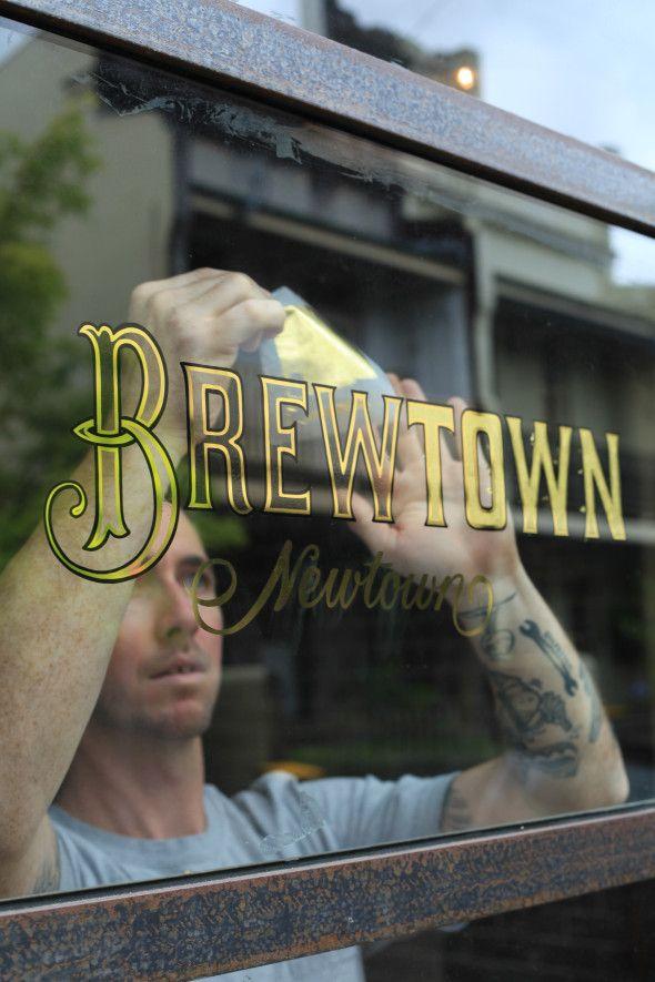 Gilding Brewtown Newtown Window | Danthonia Designs Blog
