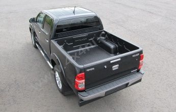 Toyota Hilux Mk7 2011 on D/C Load Bed Liner Over Rail - Heavy Duty