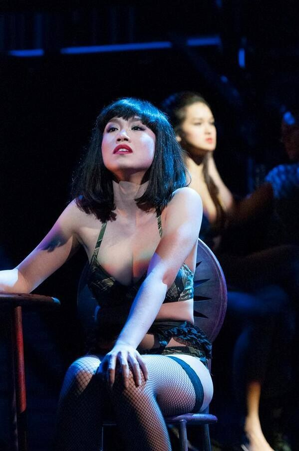 Rachelle Ann Go as Gigi in Miss Saigon 2014
