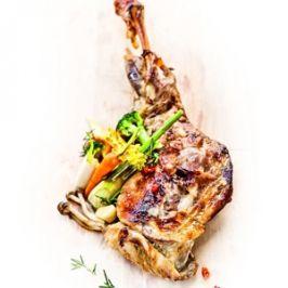 Kemencés báránysült hozzáillő zöldségekkel