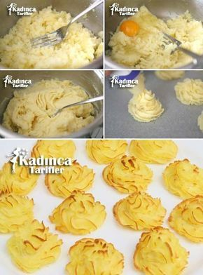 Düşes Patates Tarifi