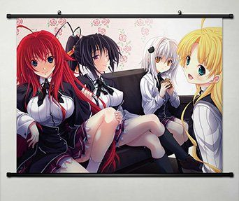 Home Decor High School DXD New Cosplay Wall Scroll Poster Key Roles 23.6 X 17.7 Inches -081 ** Review more details here : DIY : Do It Yourself Today