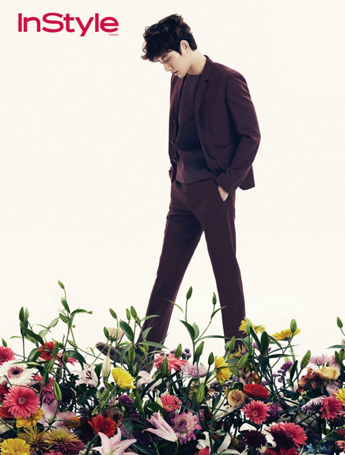 Park Hae Jin - InStyle Magazine March Issue '14