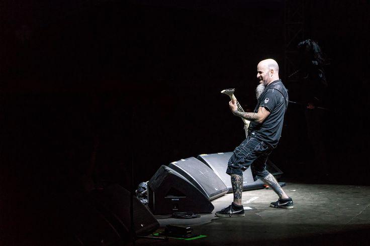 Scott Ian of Anthrax Photo by © Todd Morgan