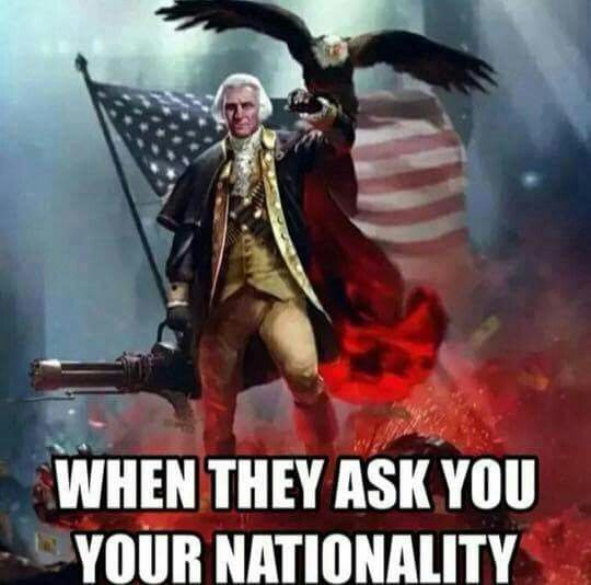 I AM A RED BLOODED AMERICAN