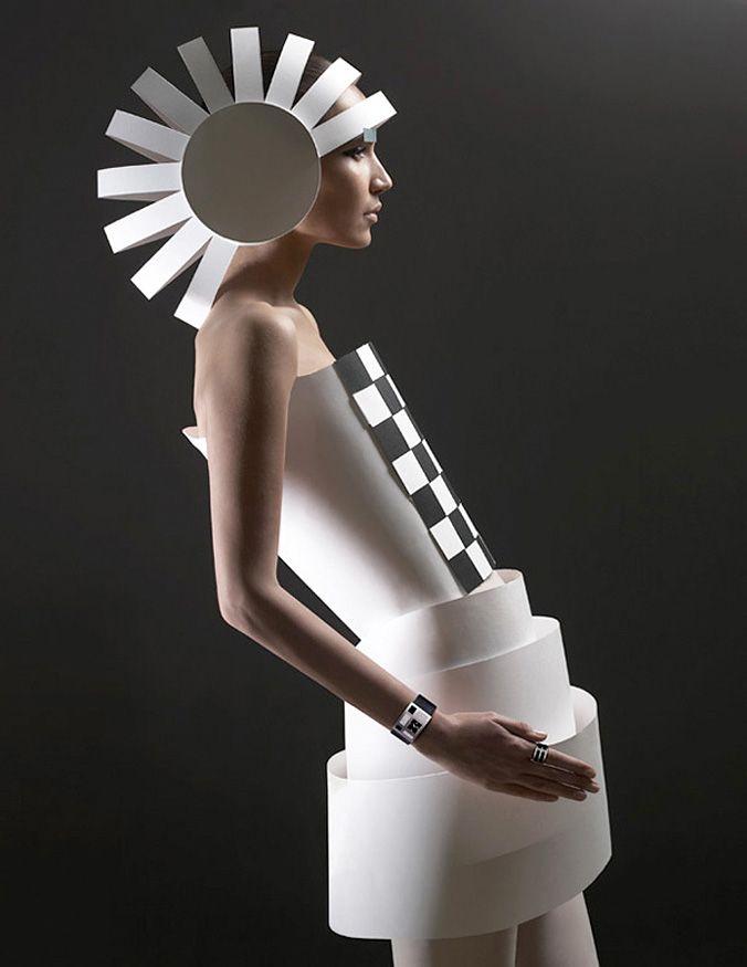 'Papercraft Couture' by Russian photographers (Alexandra Zaharova & Ilya Plotnikov) Doberman Studio. via design aside