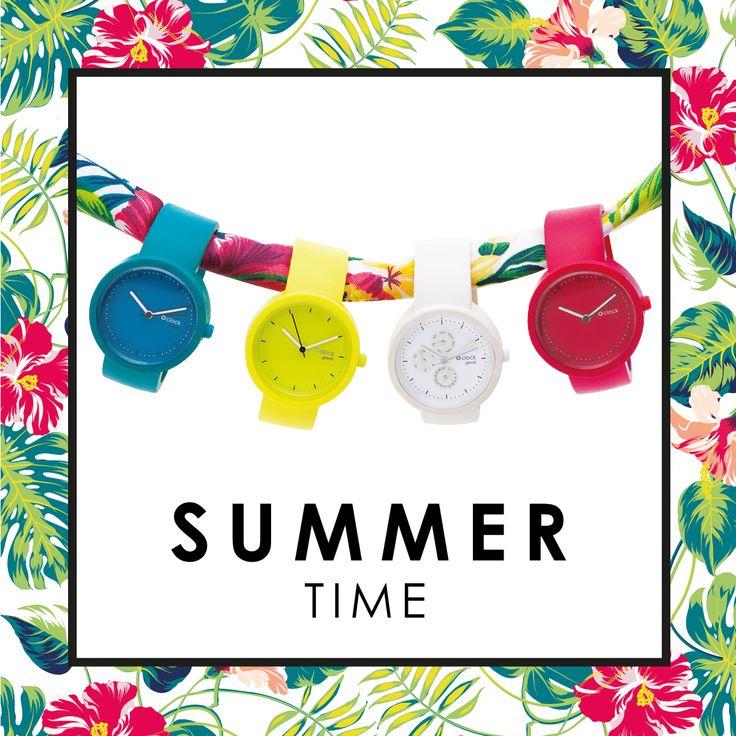All the colors of #summer!  Scopri l'arcobaleno di colori di O clock e scegli quelli più adatti al tuo guardaroba estivo!  #Obag #Oclock