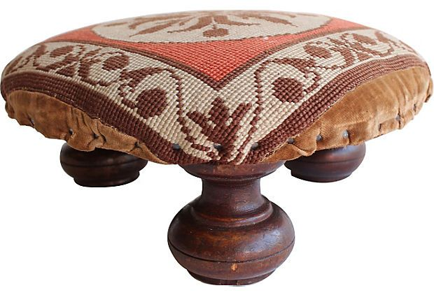 77 Best Antique Footstools Images On Pinterest