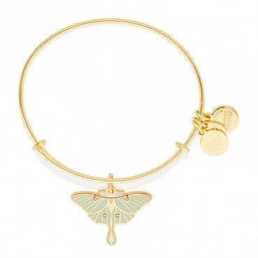 ALEX AND ANI | Path of Symbols | Luna Moth Charm Bangle