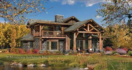log cabin love: Dreams Hom, Home Plans, Home Floors Plans, Future House, Dreams House, Posts And Beams, Porches Ideas, Logs Cabins, Logs Home