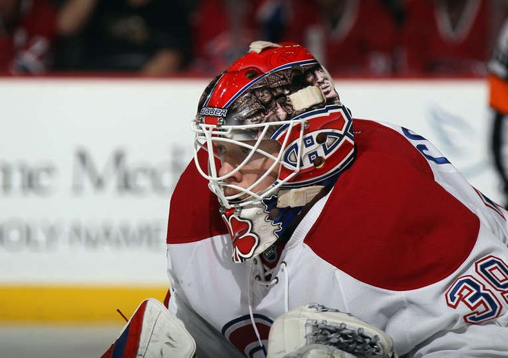 Mike Condon #39 of the Montreal Canadiens