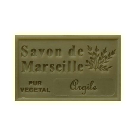 ✭  Savon de Marseille argile verte 125g - Exfoliant doux gommage de la peau ✭ Savon de Marseille EXFOLIANT. Un savon de provence à l'argile verte. Une composition unique du sud de la France..