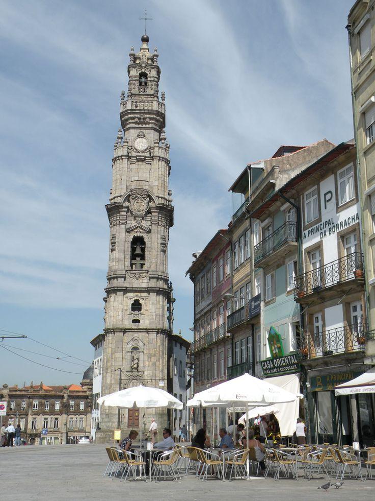 Torre Dos Clérigos-Porto!  #Portugal