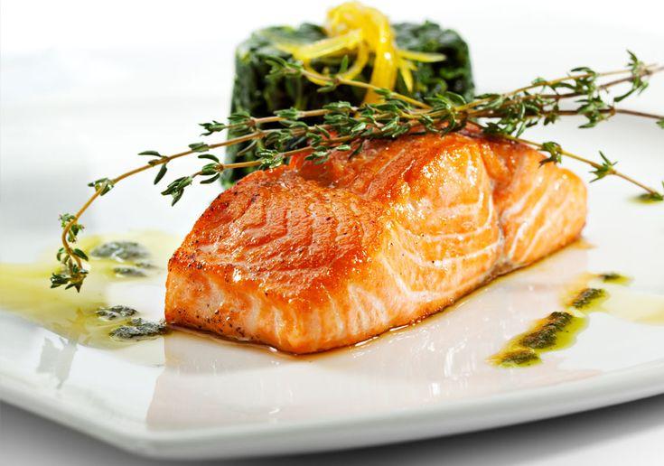 Glazed Salmon | Fish & Seafood | Pinterest