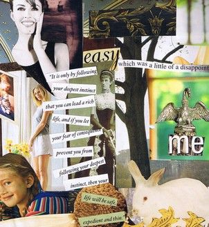 Expressive Art Therapy Activity - Collaging your values.  Good for rapport building, self-esteem, decision making skills, and goal-setting (I'm sure it would be good for lots of other treatment objectives as well)