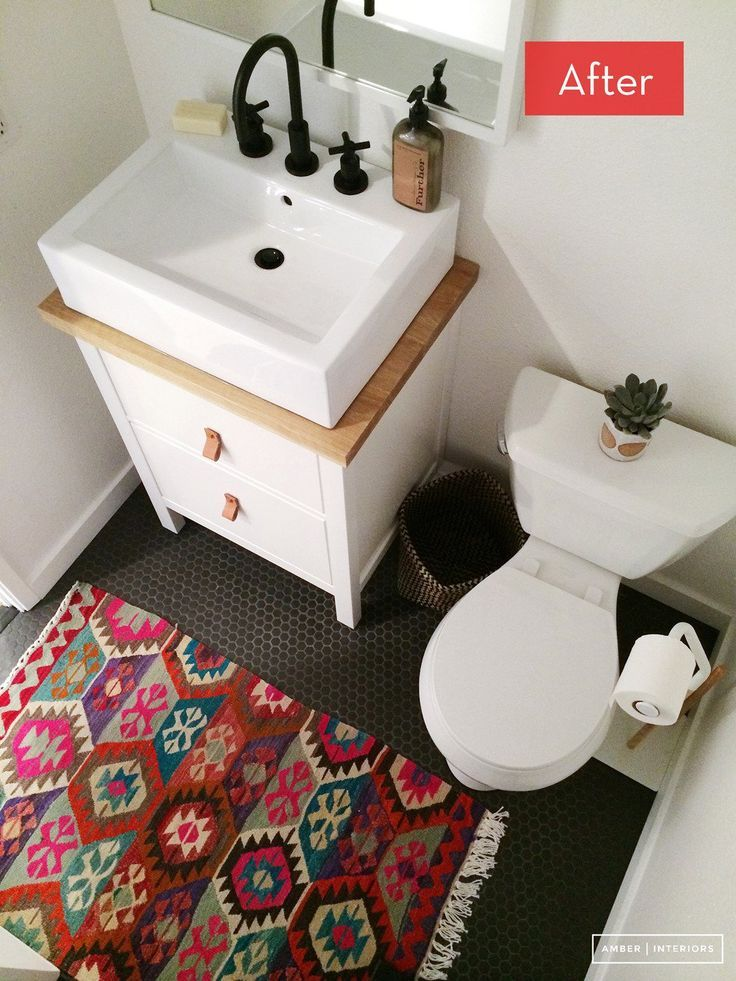 Before and After: An Office Bathroom Gets A Massive Makeover –