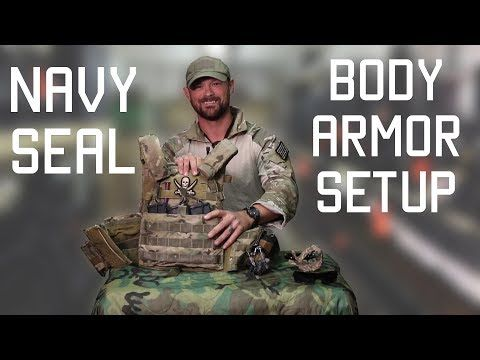How a Navy SEAL sets up his Body Armor | Navy SEAL Techniques | Tactical Rifleman - YouTube
