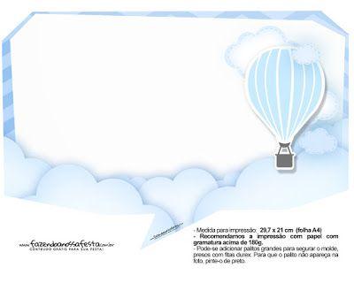Mavi Uçan Balon Temalı Ücretsiz Pankartlar - Neşeli Süs Evim - Ücretsiz Doğum Günü Süsleri