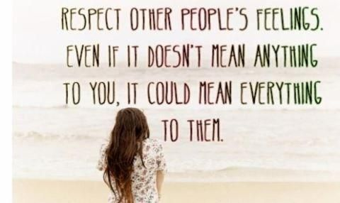 respect other people's privacy | Respect Peoples Feelings ...