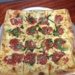 Vesuvio's Pizza for a soda and a slice on bikes. Point Pleasant