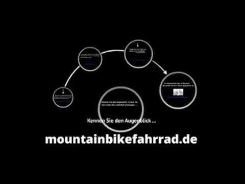 Geile Website über heiße Mountainbike ... mit Videos ! www.mountainbikefahrrad.de