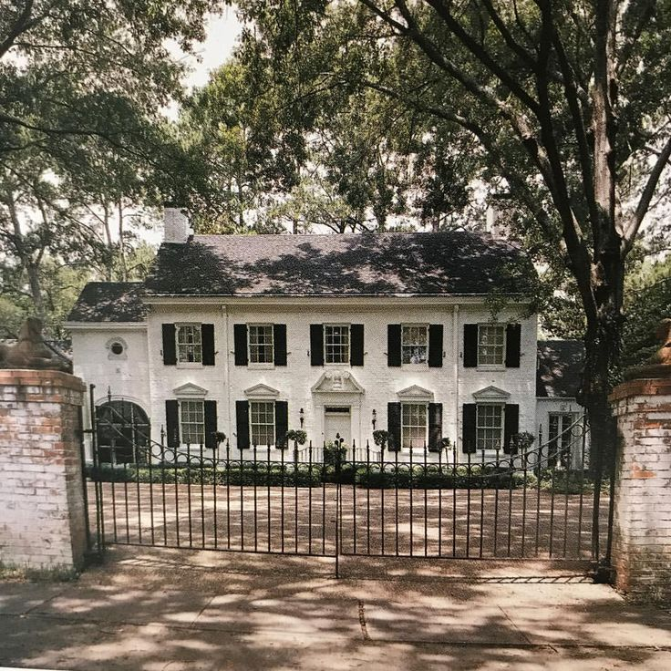 Monroe Louisiana Dream House Pinterest Colonial