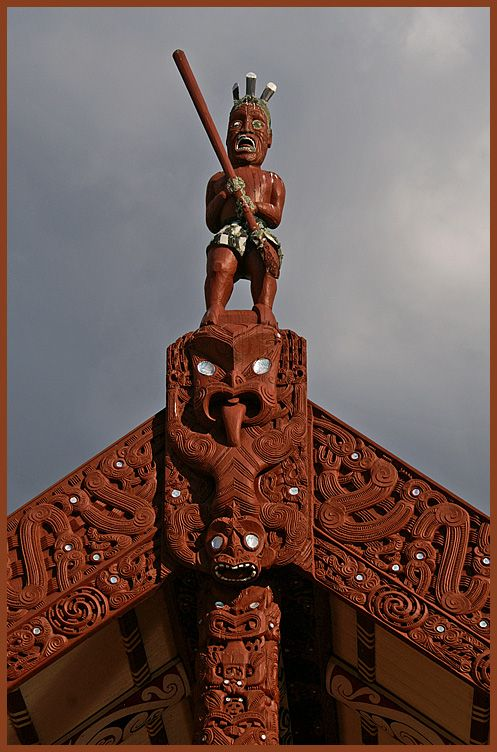 Te Arawa Marae, Rotorua, New Zealand