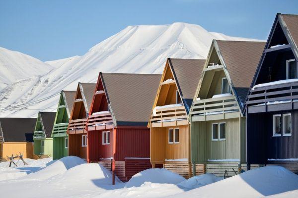 Longyearbyen, Spitzbergen, Norwegen