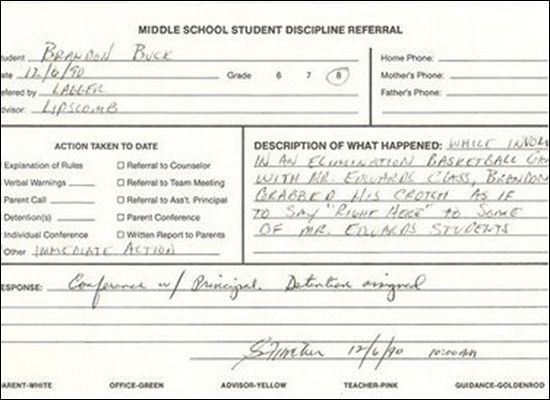 detention notice template - 25 best ideas about detention slips on pinterest funny