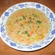 Fotografie receptu: Levná pohanková polévka