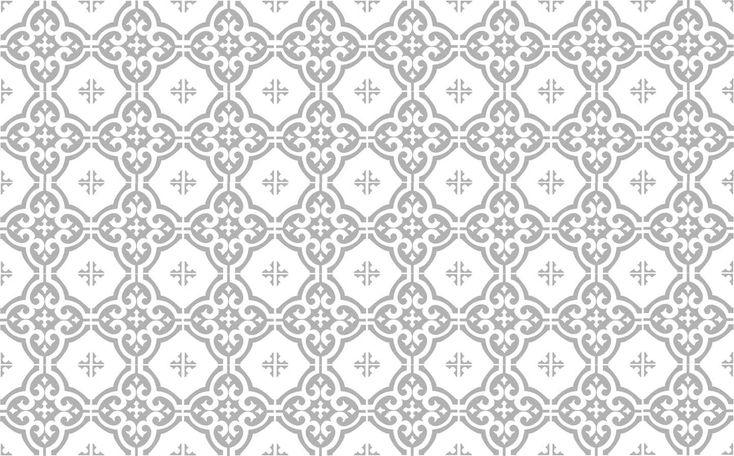 Klassiskt grått mönster Dekorplast