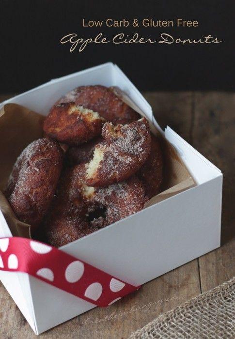 a gluten free apple cider donut recipe from Mellissa Sevigny of I Breathe Im Hungry