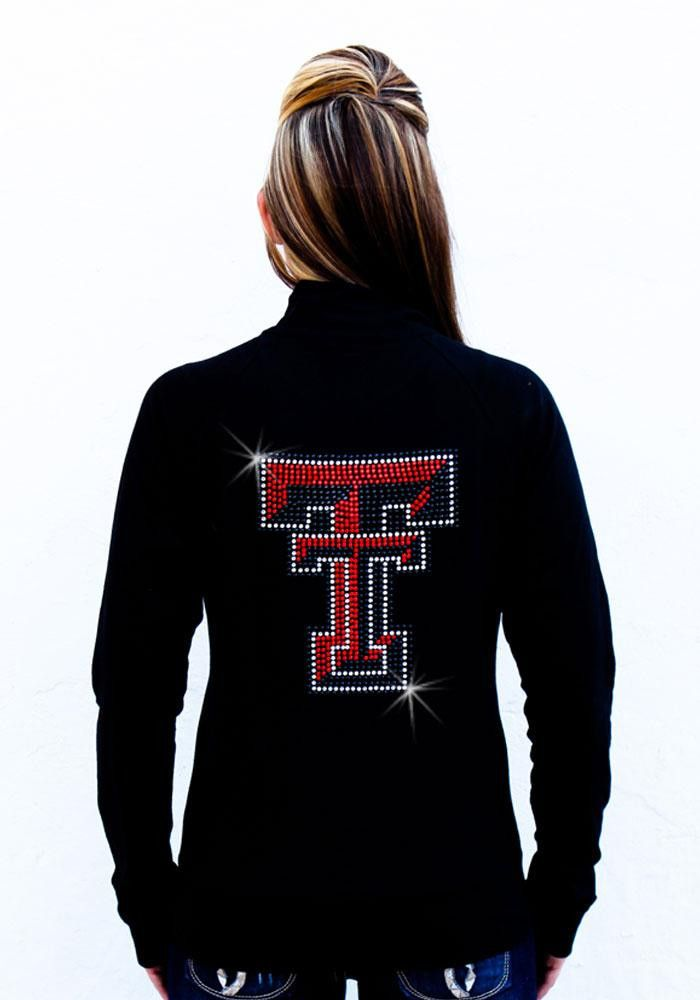 Texas Tech Red Raiders Gameday Couture Womens Black Cadet Track Jacket