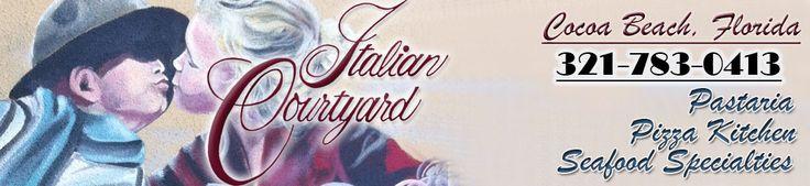 Italian Courtyard - Italian Restaurant, Cocoa Beach, FL