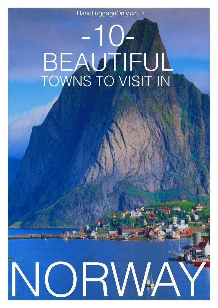 10 Beautiful Towns You Should Visit in Norway – Hand Luggage Only – Travel, Food…