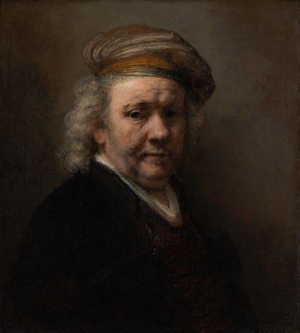 Rembrandt, Self-Portrait, 1669, Mauritshuis, The Hague