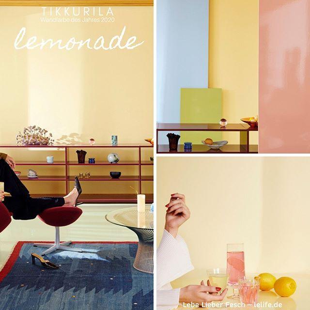 Tikkurila Wandfarbe Des Jahres 2020 Lemonade Endlich Die Sonnenfarbe Des Lebens Gelb Ist Die Trendfarbe Fur Die Wand Fur Das Finni In 2020 Crosley Turntable Turntable