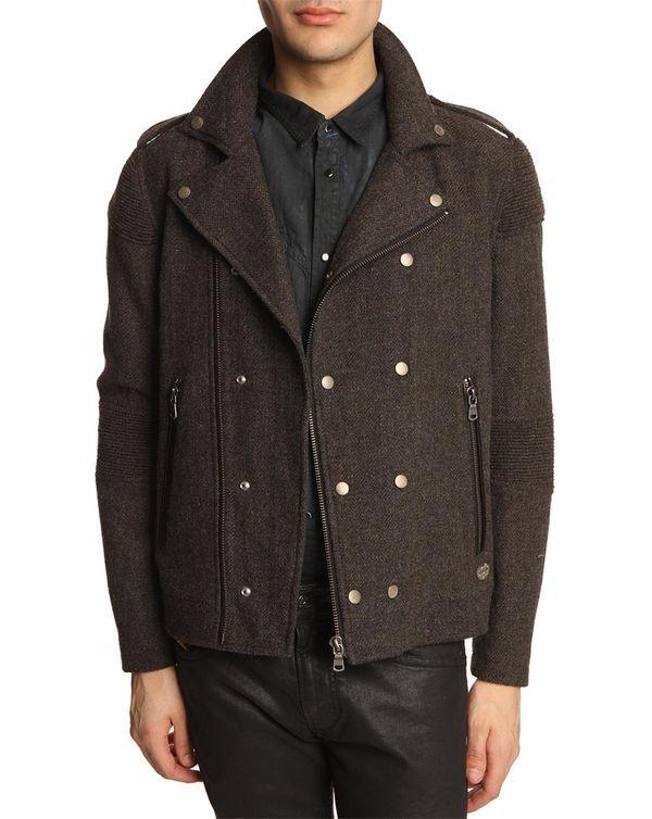 chaqueta DIESEL marrón para el frio mas de invierno